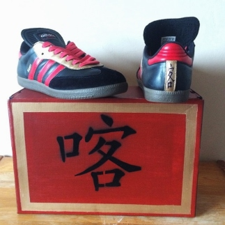 Customised Adidas Sambas